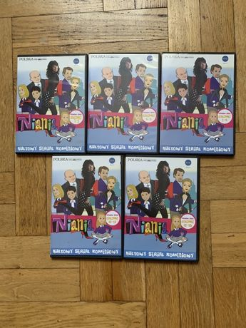 Serial Niania sezon 1 DVD stan bdb