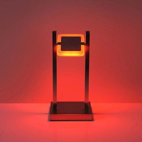 Nowoczesna lampka biurkowa nocna RGB+W led Paul Neuhaus Q-VIDAL