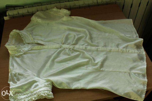 satynowa bluzeczka w kolorze Ecru Reserved rozm.40