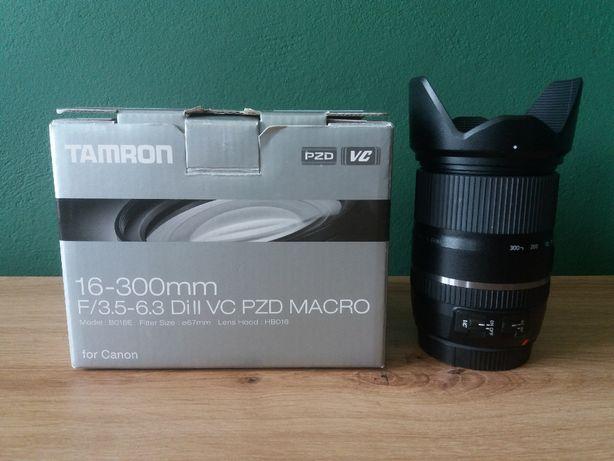 Obiektyw TAMRON 16-300 mm f/3.5-6.3 DI II VC PZD Macro / Canon