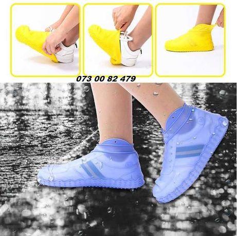 Чехлы бахилы для обуви от дождя и грязи, качественные