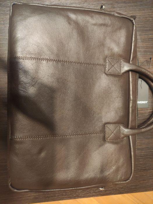 Skórzana torba na laptopa Rzeszów - image 1