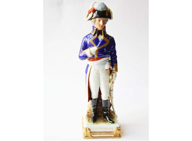 Figurka porcelanowa Marszałek François Kellermann