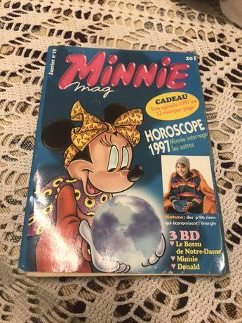 Livro banda desenhada Minnie Magazine (em francês)