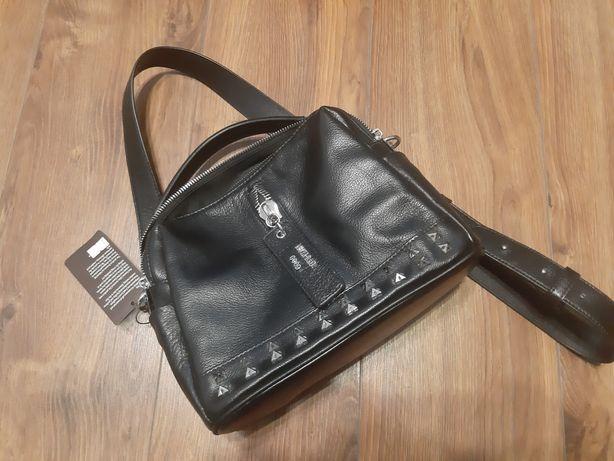 Новая черная сумка кожа