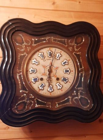 Часы настенные, антикварные -1840-1843г - Франция.