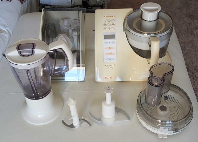 Robot de Cozinha Moulinex Genius 2000