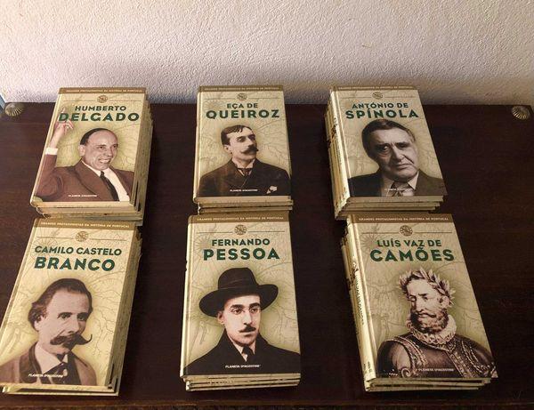 """Coleção de livros """"Grandes Protagonistas da História de Portugal"""""""