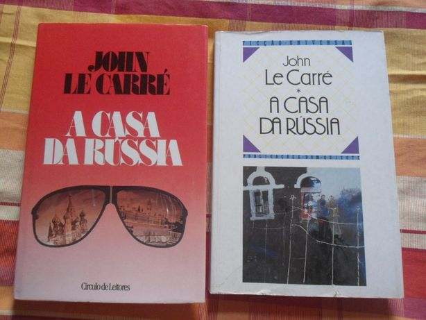 A Casa da Rússia de John Le Carré (1989)