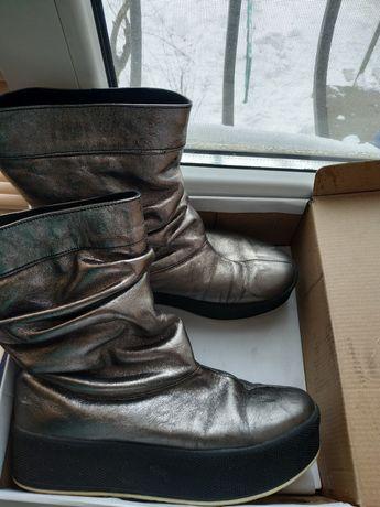 Кожаные ботинки р.39 Angelina