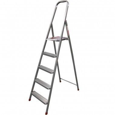 Драбина металева односекційна Квітка Standart (7 сходинок) (K9008)