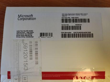 Microsoft Microsoft (oem) Win Svr Essentials 2016 64Bit Polish DVD 1-2