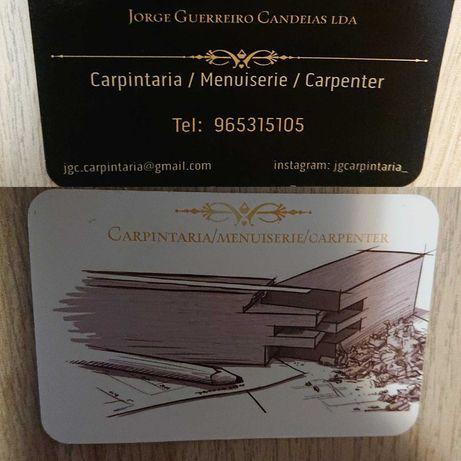Carpinteiro/menuisier