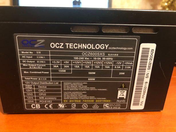 Блок питания OCZ 600SXS 600Вт