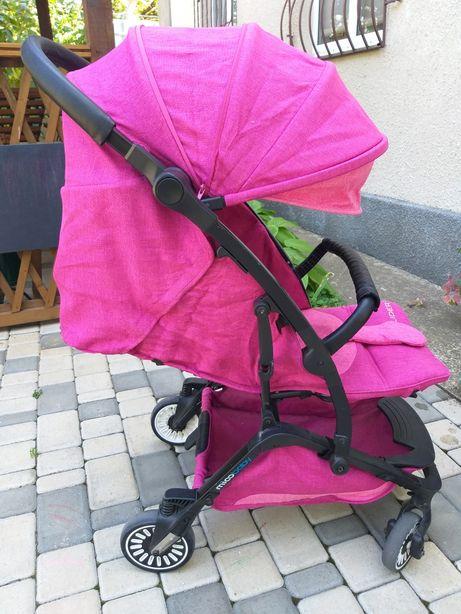 Прогулочная коляска Mioobaby glider purple + москитная сетка