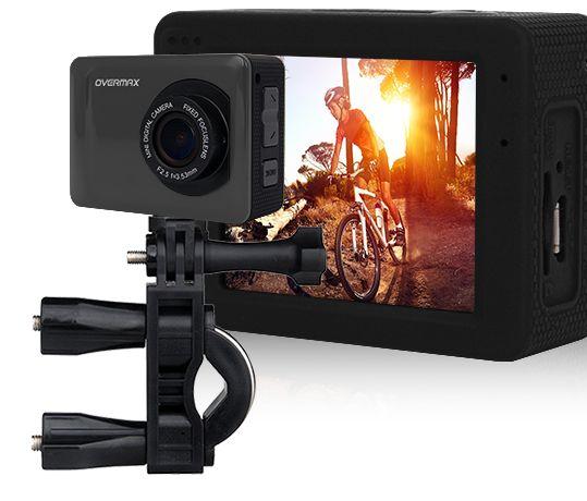 Sportowa kamera OVERMAX ActiveCam 2.1 Full HD NOWA + Dużo dodatków