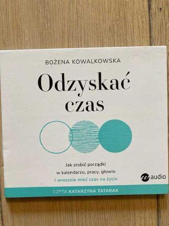 """Audiobook """"Odzyskać czas"""" Grażyna Kowalkowska"""