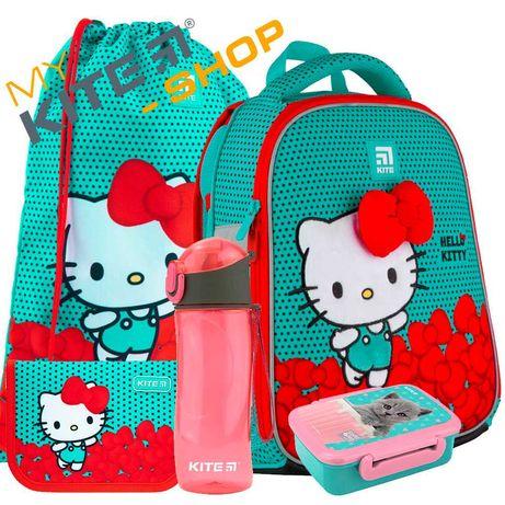 Школьный набор 5в1  КАЙТ KITE Рюкзак сумка пенал для девочки