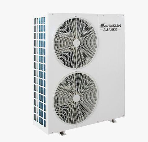 """Pompa ciepła inwerter A++Sprsun Alfa Eko 16,6kW """"Czyste powietrze"""""""