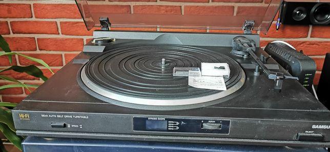 SAMSUNG Gramofon Półautomatyczny,100% sprawny,nowa Igła