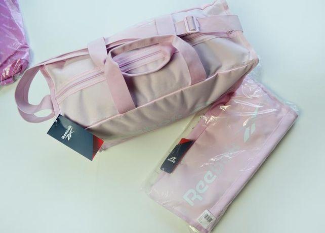 Розовая спортивные сумки для фитнеса и тренировок reebok