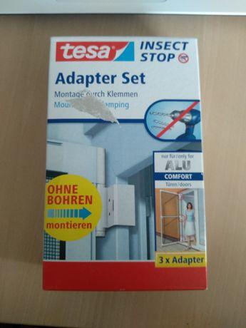 Adapter do moskitiery ramkowej drzwiowej tesa® COMFORT biały