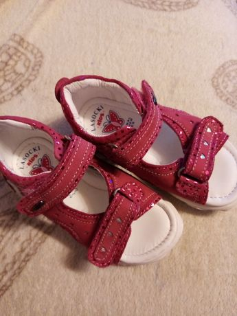 Sandałki dziewczece dla dziecka lasocki rozmiar 22
