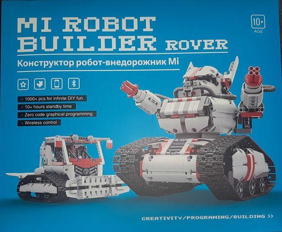 Интерактивная игрушка mi robot builder rover. Lego конструктор.