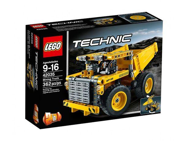 Lego 42035 Technic Ciężarówka górnicza JAK NOWY idealny na prezent