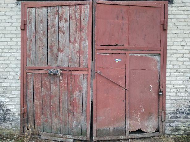 Ворота складские