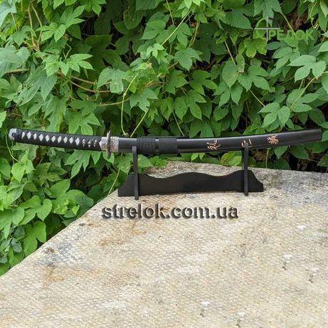 Короткий японский меч Вакидзаси №2 на подставке