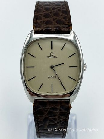 Relógio Omega De Ville Corda Manual