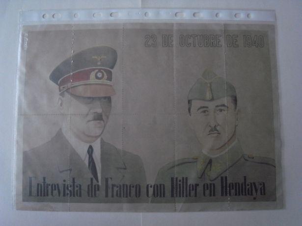 Notas banco espanha grande guerra hitler