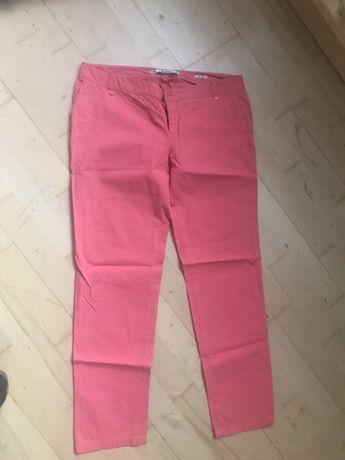 Spodnie chinosy materiałowe Zara