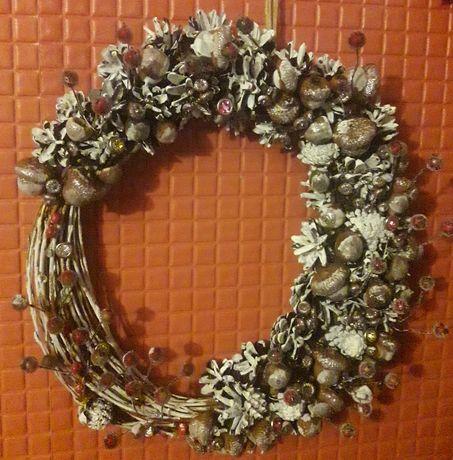 Новогодний, Рождественский венок