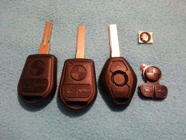 Carcaça capa comando chave botoes bmw