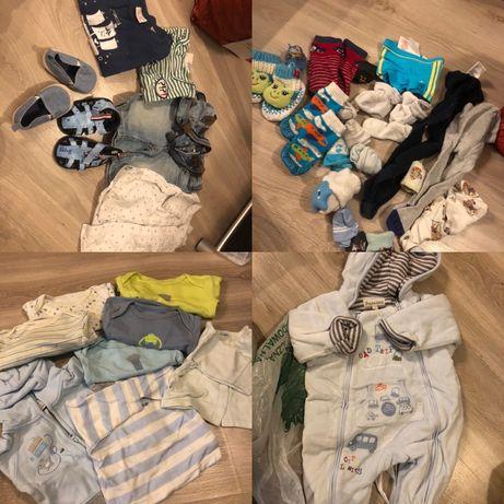 Mega paka ubrań dla chłopca...rozmiar 50-74