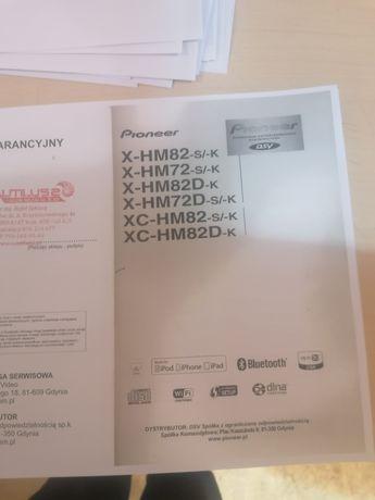 Instrukcja PL Pioneer xc-hm82 /72