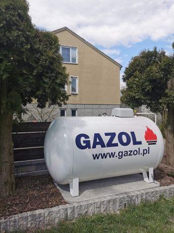 Zbiornik na gaz V-2700 litrów GAZOL