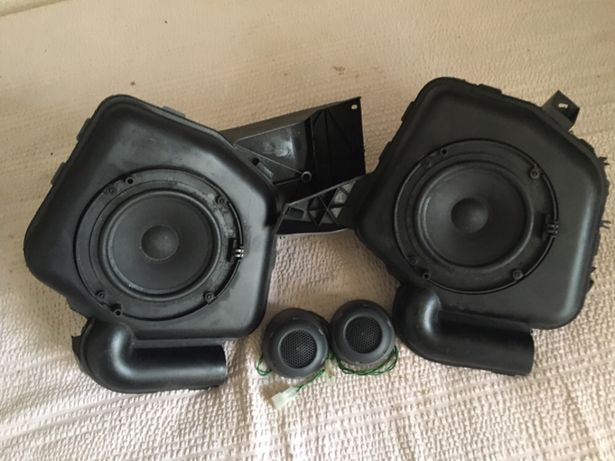 2 Colunas/Subwoofers + 2 Tweeters ORIGINAIS de Smart