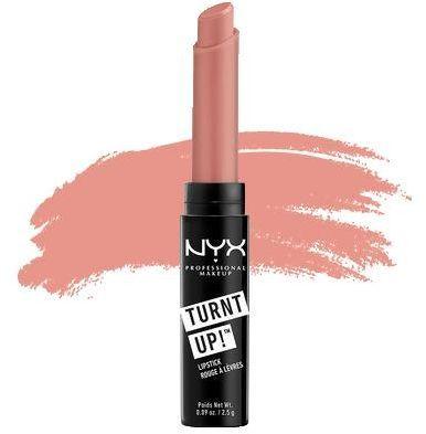 Помада NYX nyx turnt up lipstick 05 flutter kisses