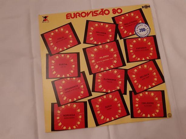 Lp do festival da Eurovisão de 1980