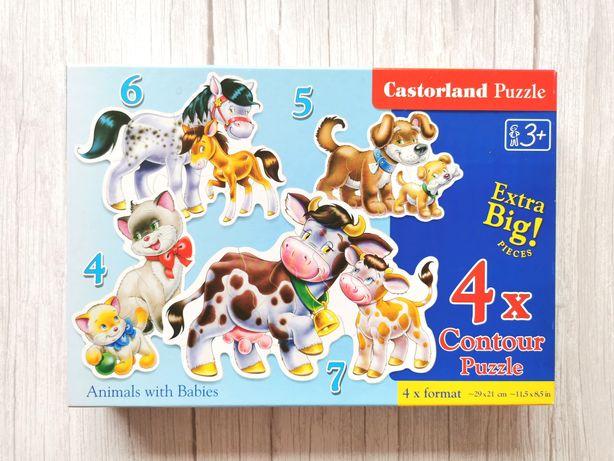 Castorland Puzzle malucha - Zwierzęta