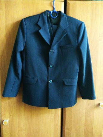 Новый школьный костюм,школьная форма (Пиджак+штаны+жилет)