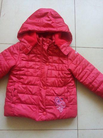 Курточка для дівчинки 98 розмір єврозима