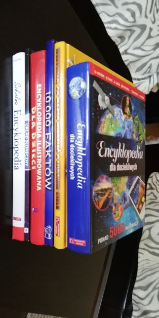 6 książek - albumów m. in. 10000 faktów, Encyklopedie ilustrowane