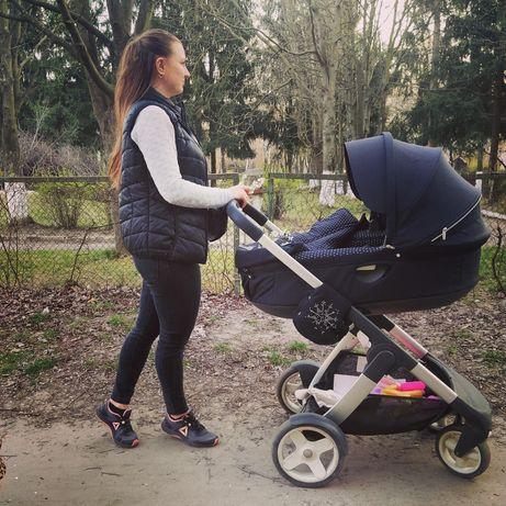 Дитяча коляска Stokke crusi детская коляска стокки