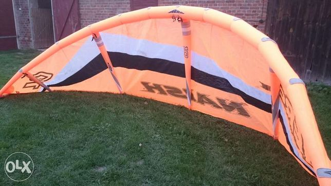 Kitesurfing kiteboarding Latawiec Naish Aero 2 - 10m. Lublin