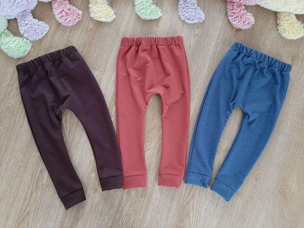 Spodnie,dresy,baggy,dresówka, handmade