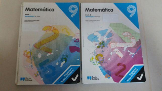 Matemática 9 - 9° Ano - Manuais (Parte 1 + 2)